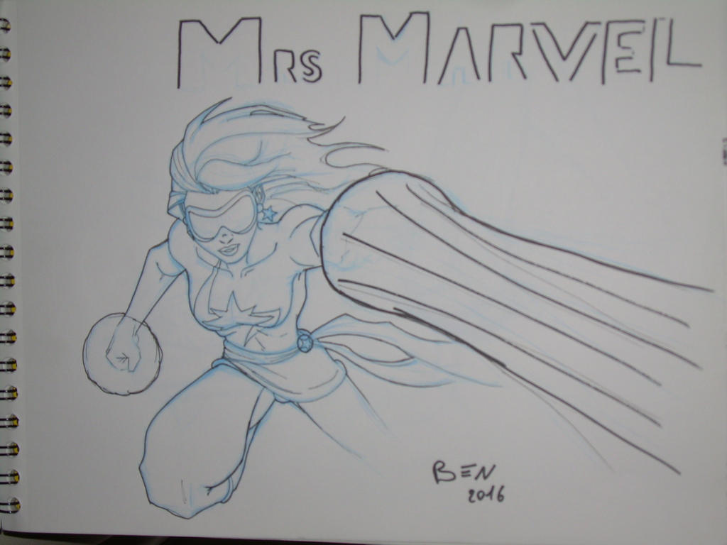 Mrs MARVEL by Ben113