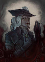 Lady Maria of the Astral Clocktower by Selann