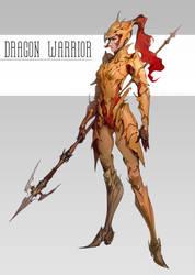 Dragon Warrior by Selann