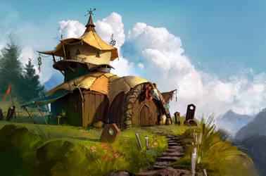 Alchemist house by Selann
