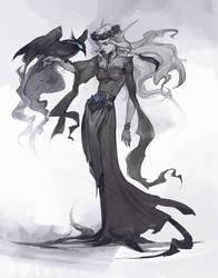 Lady blood elf - comission