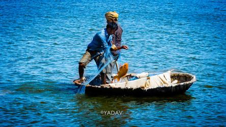 Fishing by YadavThyagaraj