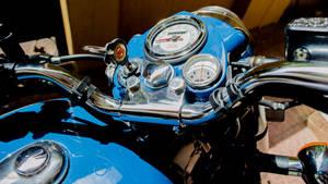 Royal Enfield classic 350 blue lagoon