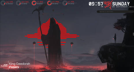 Red Death Rainmeter by Pastramiicity
