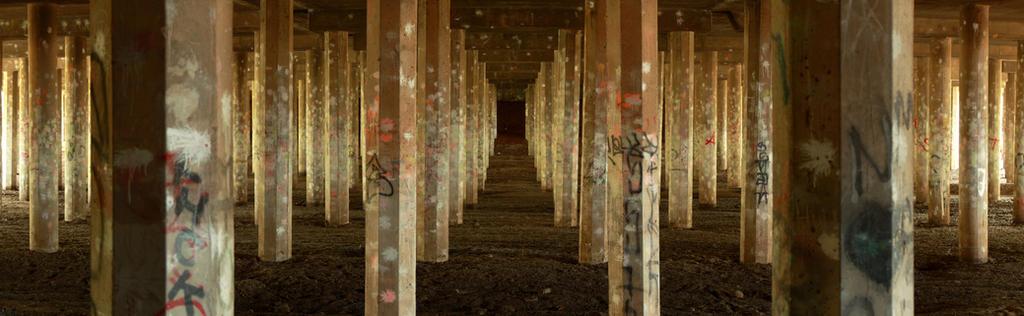 Forest of Pillars by robert-kim-karen