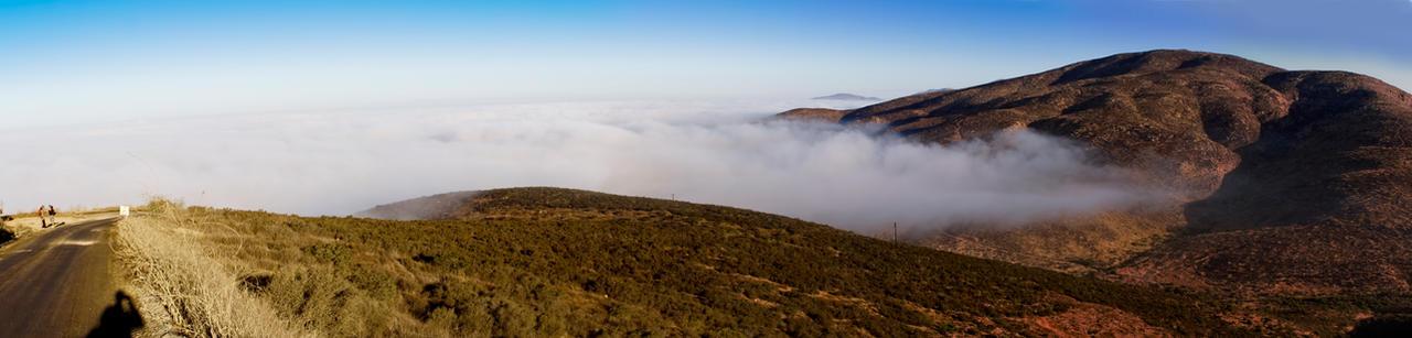 Ascending Otay Mountain by robert-kim-karen