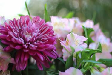 Birthday Bouquet 1 by robert-kim-karen