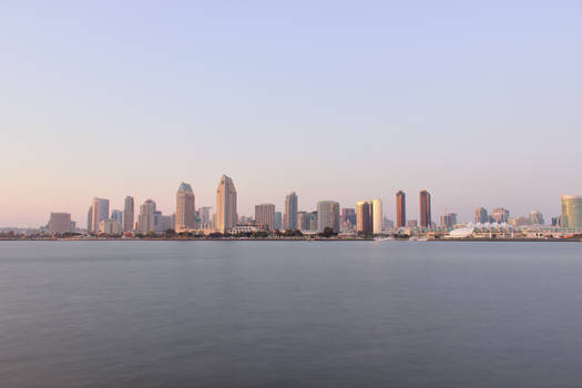 Downtown San Diego at Twilight 09-04-2020