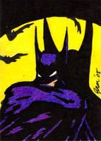 Batman - Golden Age Sketch by jamsketchbook