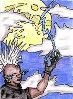 Storm - 80's Punk Style by jamsketchbook