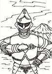Jet Jaguar Sketch Card