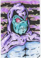 Sleepwalker Sketch Card by jamsketchbook