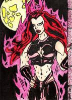 Satana the She-Devil by jamsketchbook