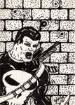 Punisher Sketch Card