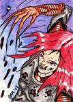 Lady Deathstrike Sketch Card