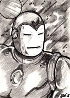 Iron Man - Mark V Armor by jamsketchbook