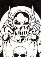 Dreadknight Sketch Card by jamsketchbook