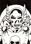 Dreadknight Sketch Card