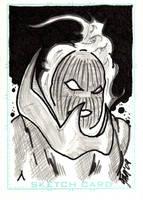Dormammu Sketch Card by jamsketchbook
