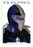 Darkhawk Sketch Card