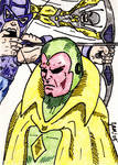 Avengers Group Sketch Card