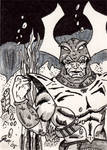 Attuma Sketch Card