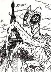 Kamacuras Sketch Card
