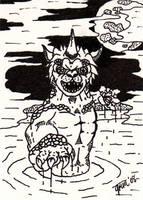 Gabara Sketch Card by jamsketchbook