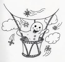 Walter the Gingerbread Man by jamsketchbook