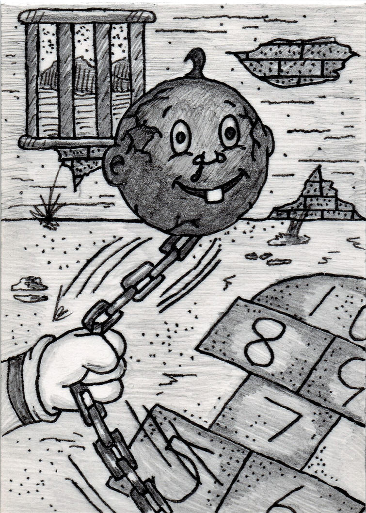 Garbage Pail Kids - Ball 'N Shane by jamsketchbook