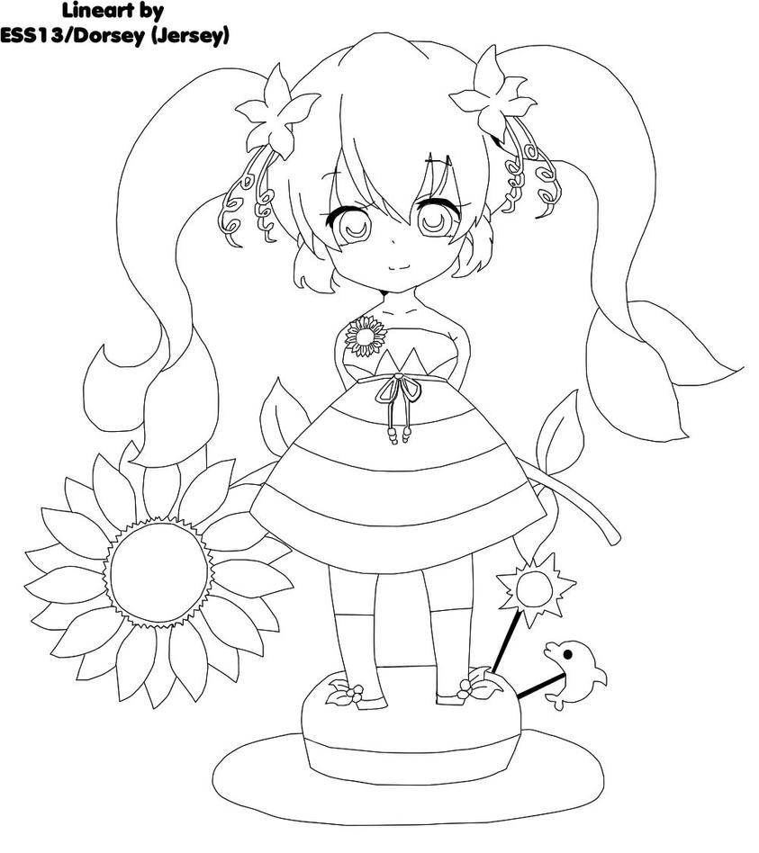 hatsune miku chibi coloring pages - photo#40