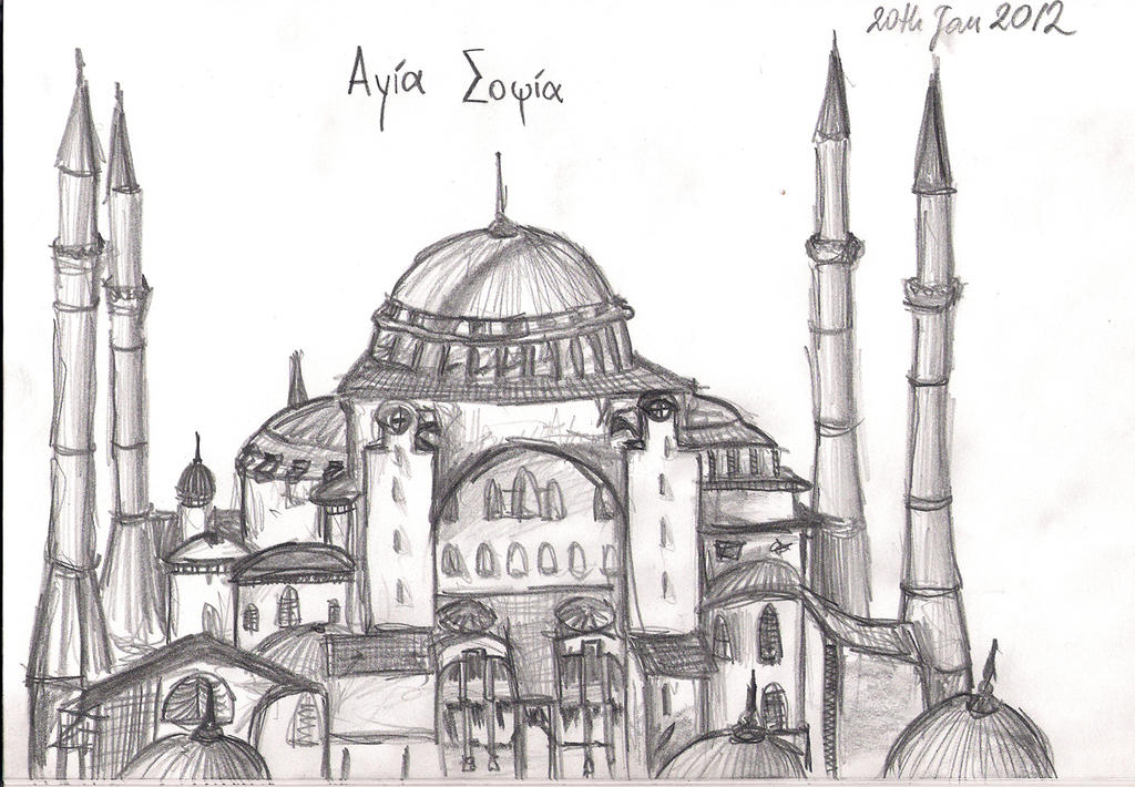Hagia Sophia by Ivyti on DeviantArt