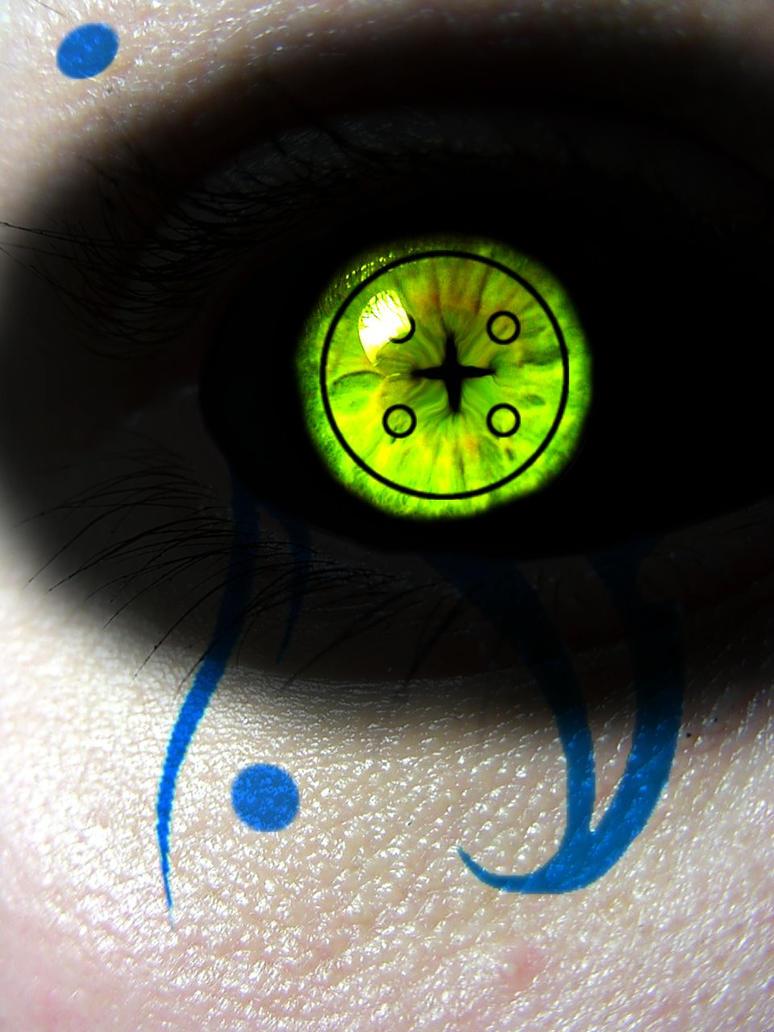 Gaara Demon Eye