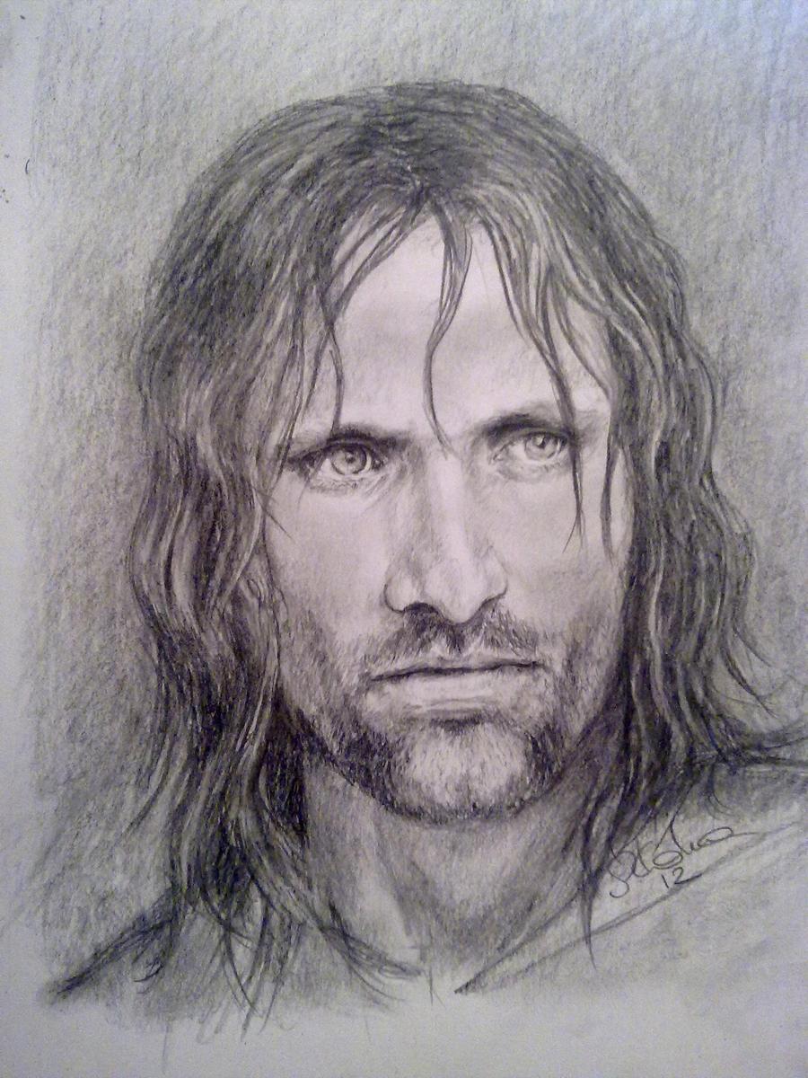 Aragorn by SannKo