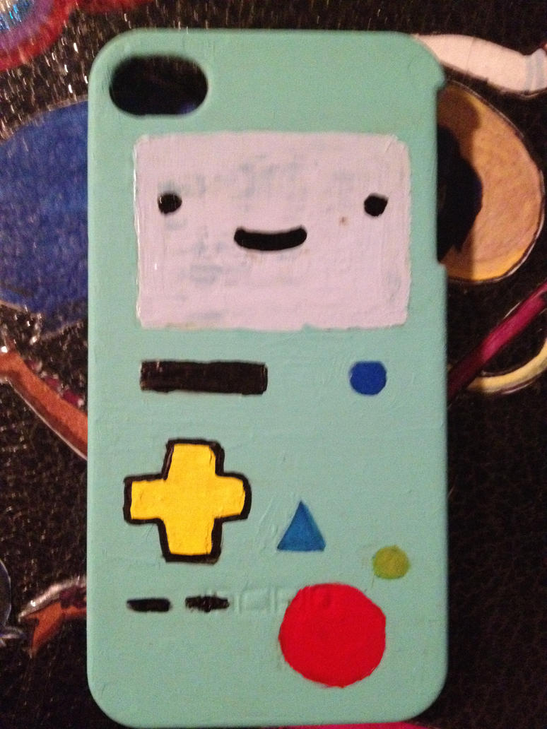 BMO iPhone Case by fieldofheather