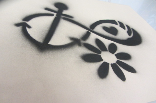 Infinity Anchor Small Stencil By Danielleisdabombbb On Deviantart