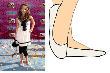 Debby Ryan in Flats by BrendyFlatsMJFF