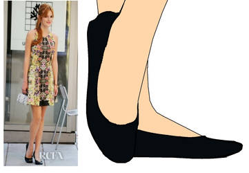 Bella Thorne in Flats by BrendyFlatsMJFF