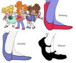 Chipette's Shoes
