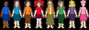 The Nuzlocke Girls Let's Go by BrendyFlatsMJFF