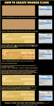 How To Create WOODEN FLOOR