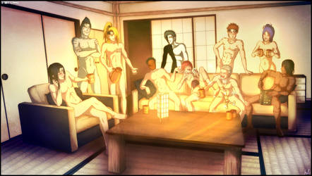 AKATSUCKERS - Sangria Party by Kaoyux