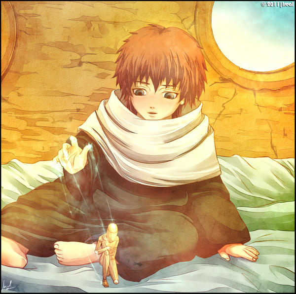 SASORI - Little Puppeteer by Kaoyux