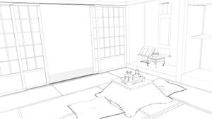 STOCK - Japanese Room 2