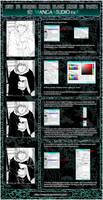 TUTORIAL Inner Black Lines To White - MANGA STUDIO