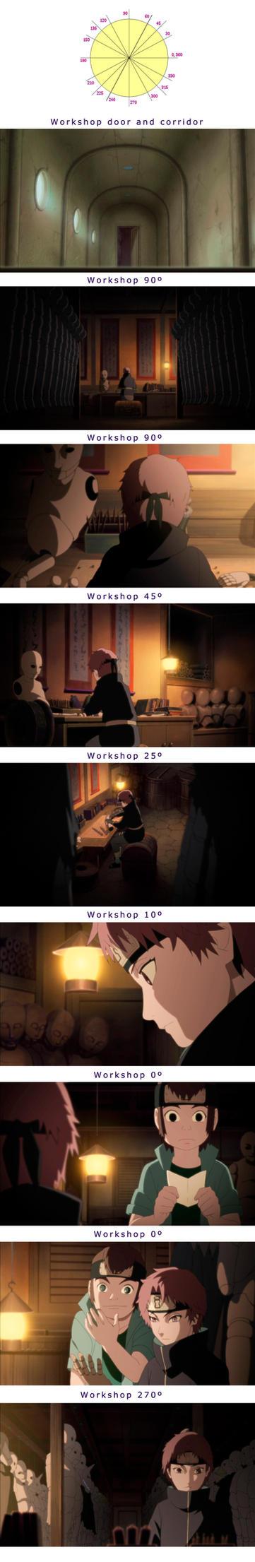 Sasori's Workshop by Kaoyux