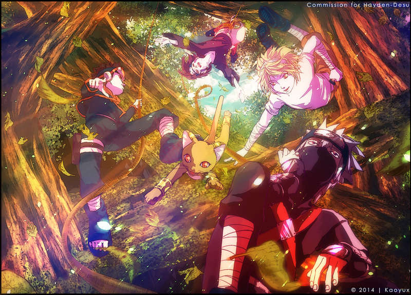 KAKASHI'S TEAM - Once Upon A Time by Kaoyux