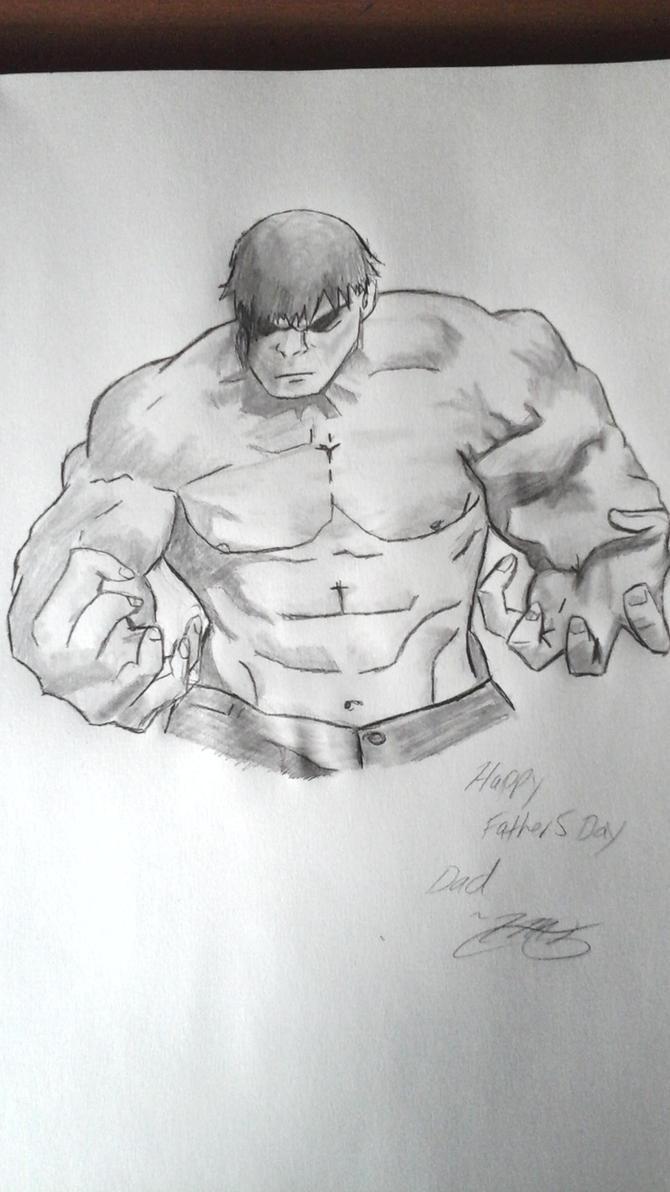 Hulk by sonictailsbro