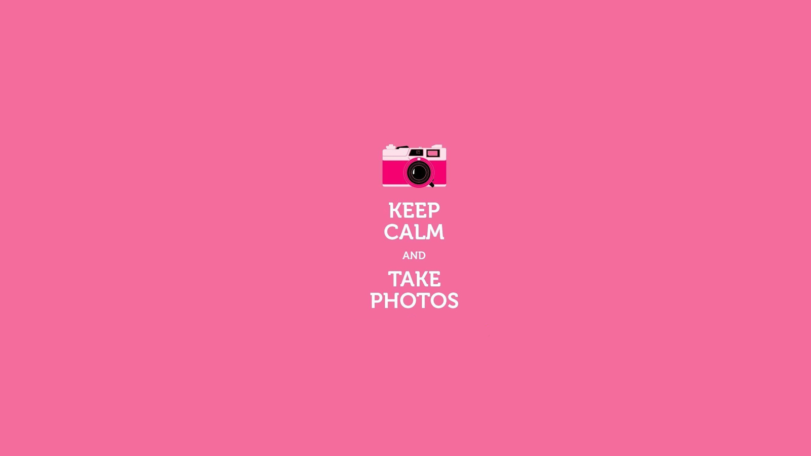 Keep calm and Take photos wallpaper by TutosHoney on ...