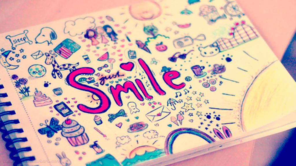 smiley notebook wallpaper by tutoshoney on deviantart